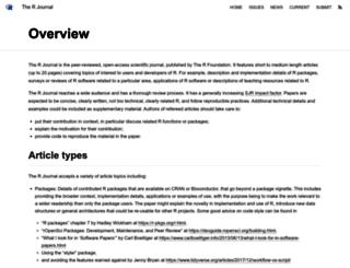 journal.r-project.org screenshot