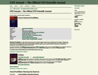 journal.uny.ac.id screenshot