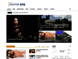 journal509.com screenshot
