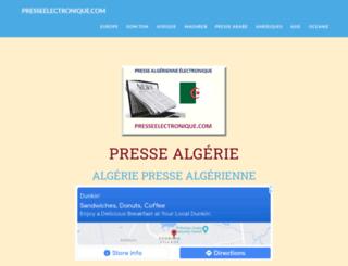 journalalgerien.com screenshot