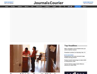 journalandcourier.com screenshot
