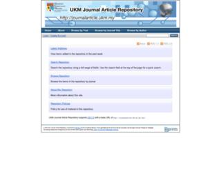 journalarticle.ukm.my screenshot