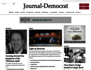 journaldemocrat.com screenshot