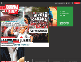 journaldequebec.com screenshot