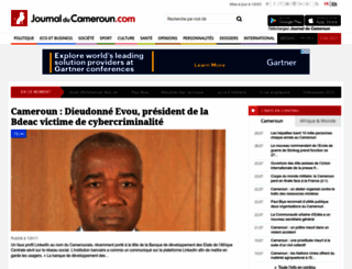 journalducameroun.com screenshot