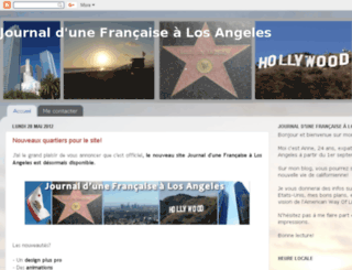 journaldunefrancaisealosangeles.blogspot.fr screenshot