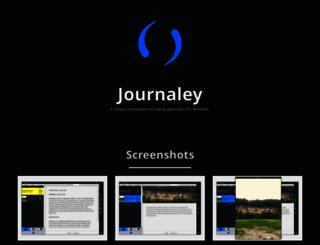 journaleyapp.com screenshot