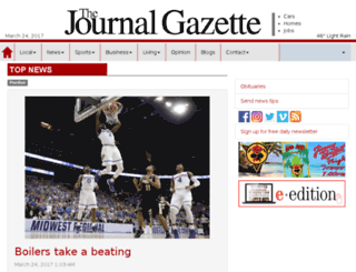 journalgazette.com screenshot
