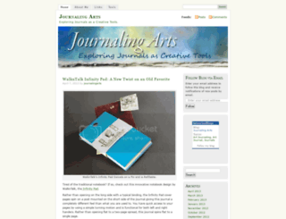 journalingarts.com screenshot