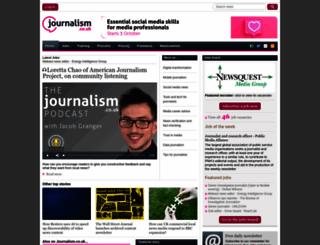 journalism.co.uk screenshot