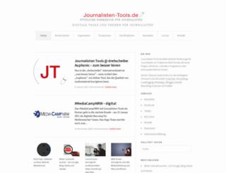 journalisten-tools.de screenshot