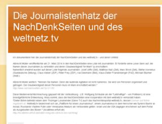 journalistenhatz.blogspot.ch screenshot
