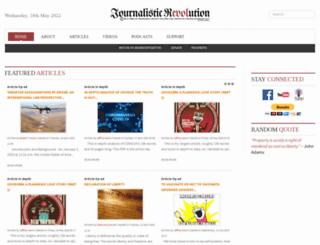 journalisticrevolution.com screenshot