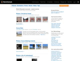 journals.worldnomads.com screenshot