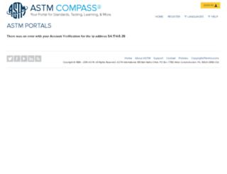 journalsip.astm.org screenshot