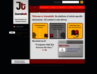 journaltalk.net screenshot