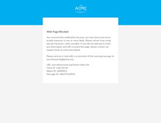 journaltool.asme.org screenshot