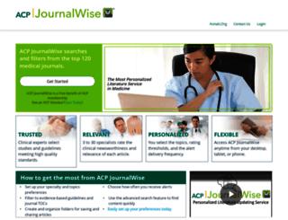 journalwise.acponline.org screenshot
