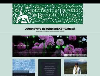 journeyingbeyondbreastcancer.com screenshot