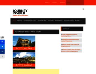 journeyinsider.com screenshot