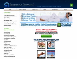 journeysinwardhypnotherapy.com screenshot