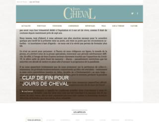 joursdecheval.fr screenshot
