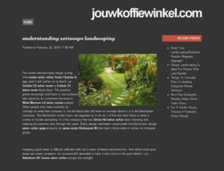 jouwkoffiewinkel.com screenshot