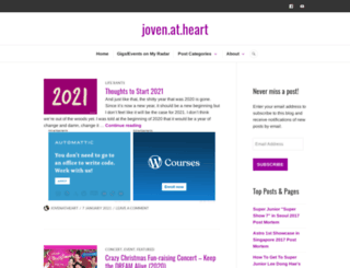 jovenatheart.com screenshot