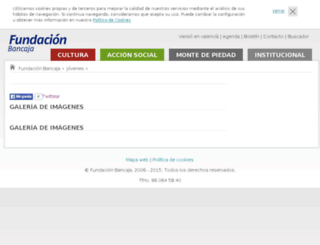 jovenesemprendedoresbancaja.com screenshot