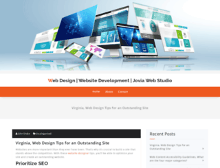 joviawebstudio.com screenshot