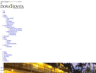 jovitaresort.com screenshot