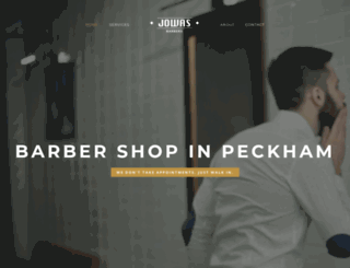 jowasbarbers.co.uk screenshot