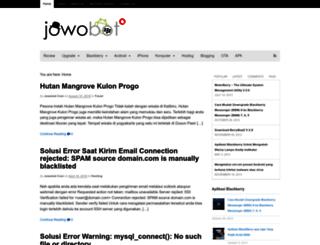 jowobot.com screenshot