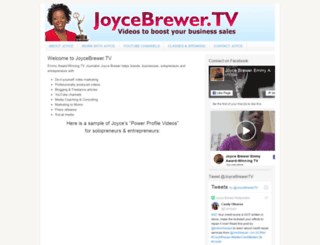 joycebrewer.tv screenshot