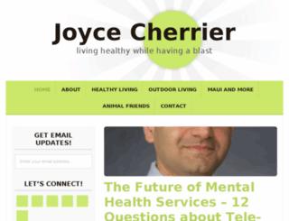 joycecherrier.com screenshot