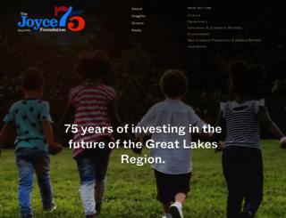 joycefdn.org screenshot