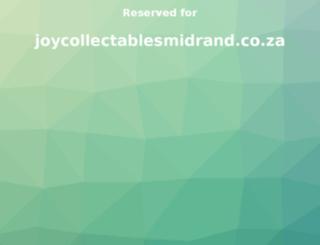 joycollectablesmidrand.co.za screenshot