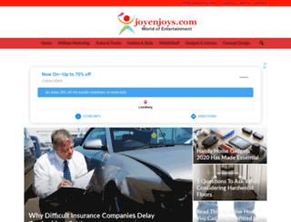 joyenjoys.com screenshot