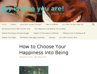 joyiswhoyouare.com screenshot