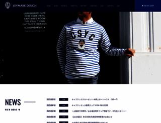 joymark-design.co.jp screenshot