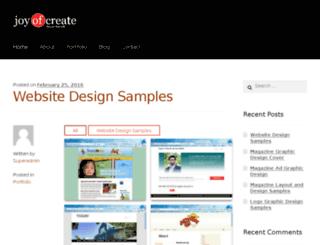 joyofcreate.com screenshot