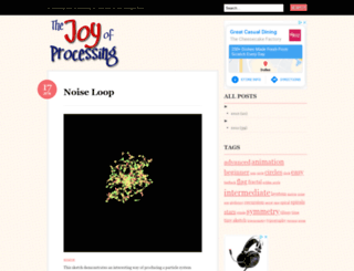 joyofprocessing.com screenshot
