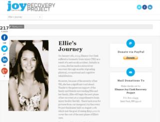 joyrecoveryproject.org screenshot