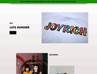 joyrichstore.com screenshot