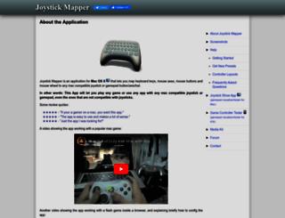 joystickmapper.com screenshot