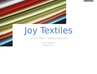 joytextile.com screenshot