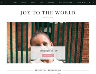 joytotheworldblog.com screenshot