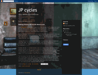 jp-cycles.blogspot.com screenshot