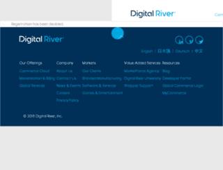 jp.digitalriver.com screenshot