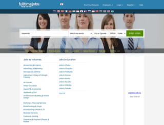 jp.fulltimejobs.com screenshot